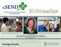 Csend Annual Report 2012 2014 Cover