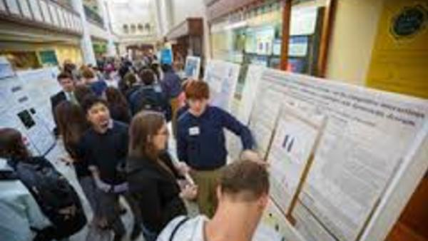 Summer comes to a close for REU and fellowship participants with over 80 students presenting at the Summer Undergraduate Research Symposium