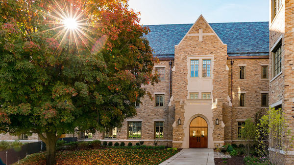 Flaherty and Dunne halls earn LEED Gold certification