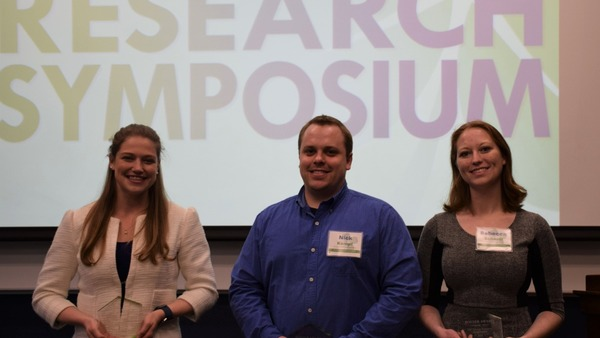 Graduate Students and Postdoctoral Scholars Showcase Energy-Related Research at Symposium Poster Session
