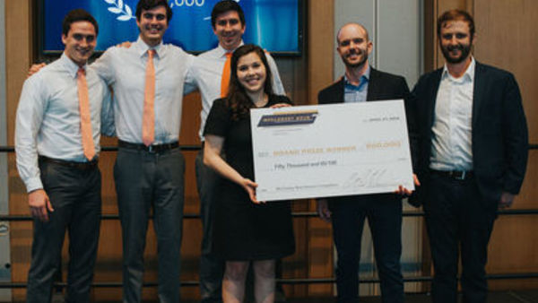Energy Studies Minor Student Wins 2018 McCloskey Grand Prize