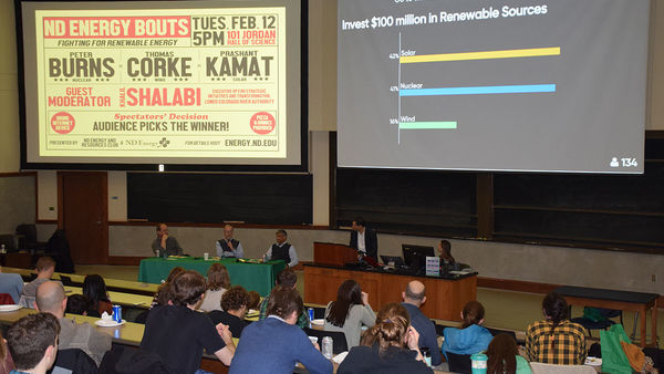 Kamat wins the title for solar in the first-ever ND Energy Bouts: Fighting for Renewable Energy