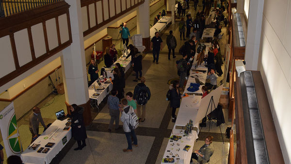 Students explored a broader range of career development opportunities during the 2019 Sustainability Expo
