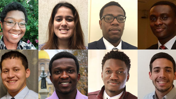 Undergraduate students selected for summer research in energy at Notre Dame and abroad