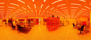 Stinson Remick Clean Room Pano